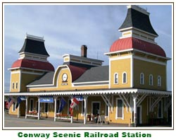 Conway Scenic Railroad Station